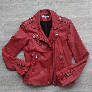 IRO Han Leather Moto Jacket 38 (6 US)